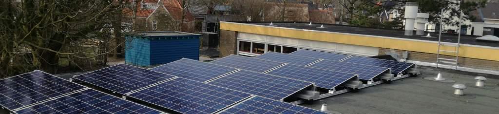 dakbedekking en zonnepanelen